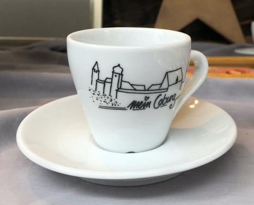 Espressotasse Mein Coburg